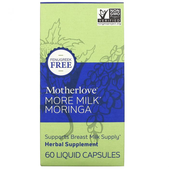 More Milk Moringa 60cps